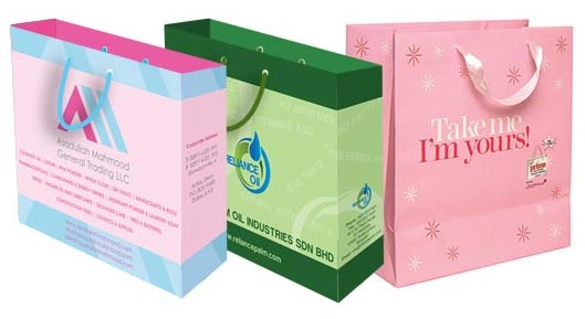 PAPER BAG, SHOPPING BAG, CUSTOMIZED, DUBAI PRINTING, OFFSET ...
